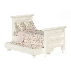Trundle Bed/white/cb