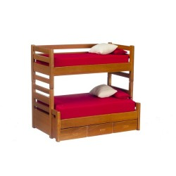 Bunkbed w/trundle/Walnut