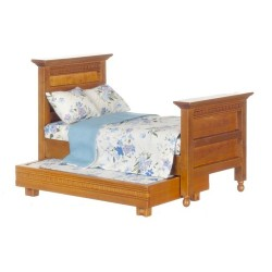 Trundle Bed/Walnut