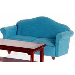 Small Sofa/blue/Mahoganyany