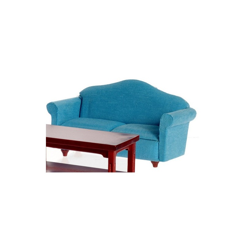 Small Sofa Blue Mahogany Dollhouse Sofa Superior