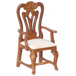 Carved Armchair/Walnut