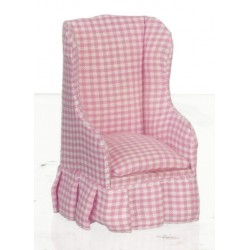 Chair/pink Fabric