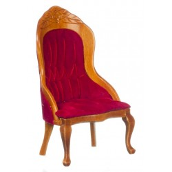 Victorian Gent's Chair/red