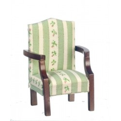 Chair/green/Walnut