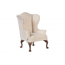 Queen Anne Wing Chair/Walnut