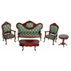 Victorian Living Room Set/5/gr/m
