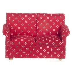 Modern Loveseat/red