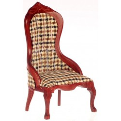 Victorian Ladies Chair/plaid