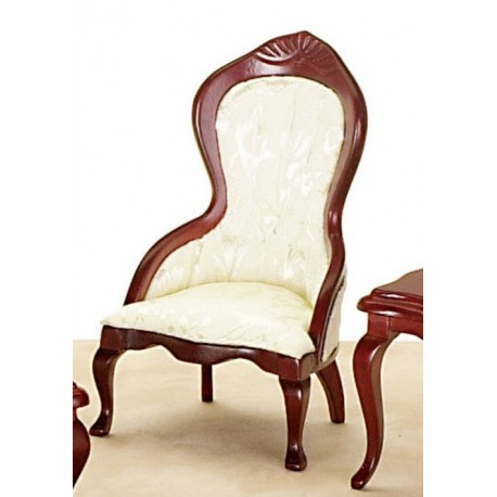 Victorian Lady's Chair/wht/cb