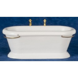 Old Fashioned Bathtub/wht