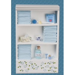 Large Bath Cabinet/blue
