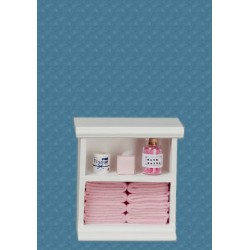Small Bath Cabinet/pink