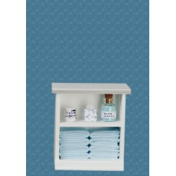Small Bath Cabinet/blue