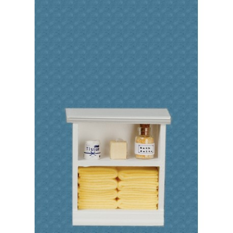 Small Bath Cabinet Yellow Dollhouse Cabinets Superior Dollhouse Miniatures