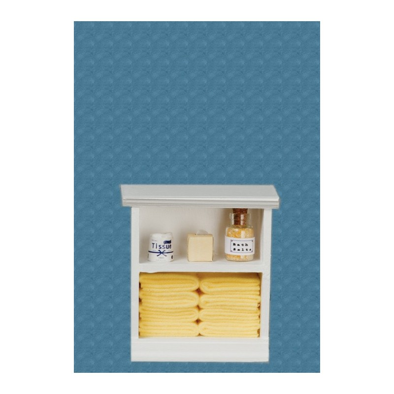 Small bath cabinet yellow dollhouse cabinets superior for Bathroom cabinet yellow