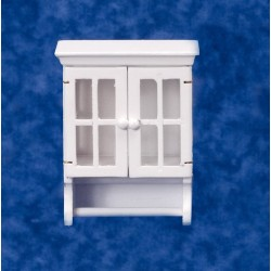 Towel Cabinet w/bar/wh/cb