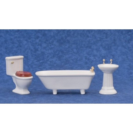 3-pc Bathroom/lid/whit/bx