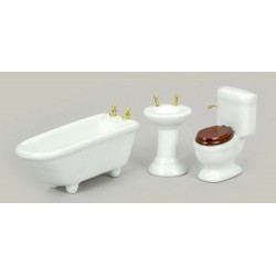 3pc Bath Set/wh