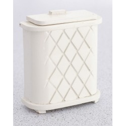 Clothes Hamper/white/cb