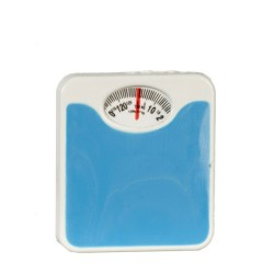 Blue Bathroom Scale