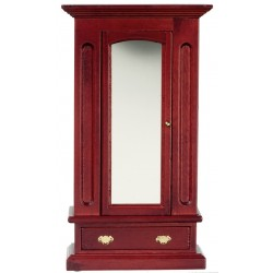 Mirrored Armoire/Mahogany