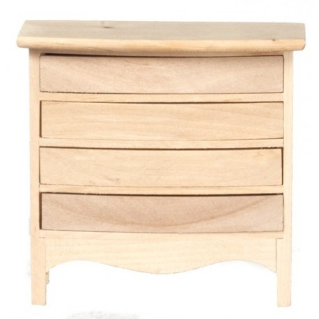 Chest Of Drawers/unfinish