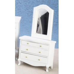 Low Dresser w/mirror/w/cb