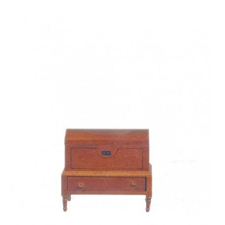 Lincoln Dome Chest/waln