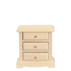 3-drawer Night Stand/unfi