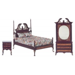 Harding Bed Set/3/mah/h.p