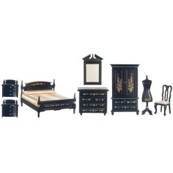 Bedroom Set/8/black