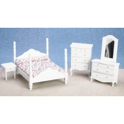 Bedroom Set/5/white/cb