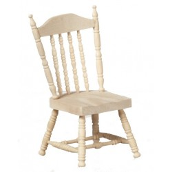 Spindle Side Chair/unfin