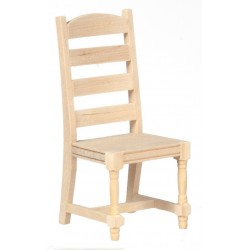 Ladderback Side Chair/unf