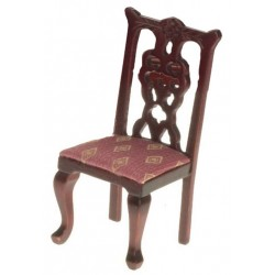 Side Chair/Mahogany/rose