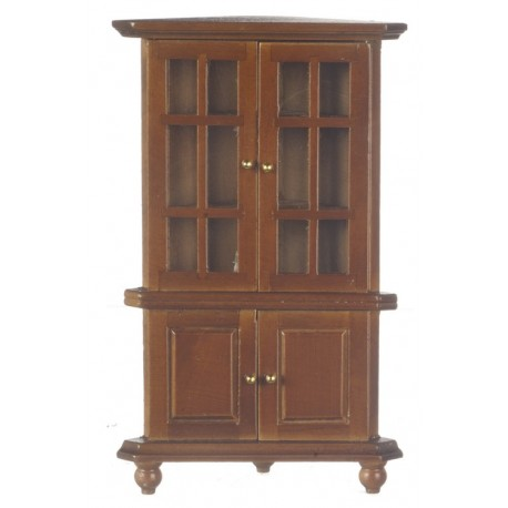Corner Hutch/Walnut