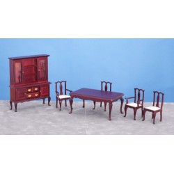 Dining Room Set 6 Mah
