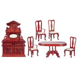 Dining Room Set 6 Mah Cb