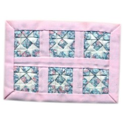 Pink Star Small Quilt*