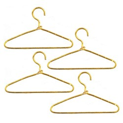 Gold Wire Hangers/4