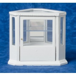 Corner Display Cab/white