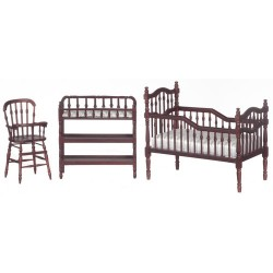 Baby Room Set/3/Mahogany