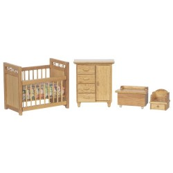 Nursery Set/4/oak
