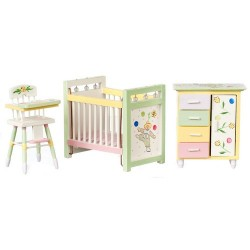 Nursery Set/3/painted