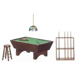 Pool Table Set/24/walnut
