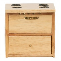 Modern Kitchen Stove/oak