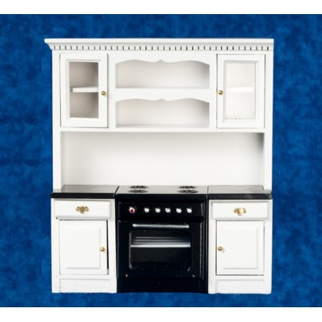 Kitchen Stove/count/cupbd