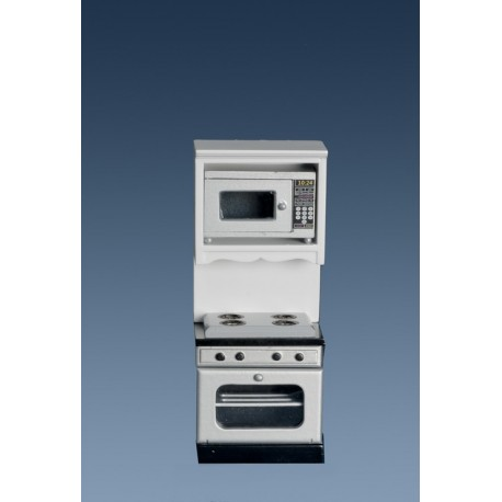 Oven w/microwave/wh/marbl