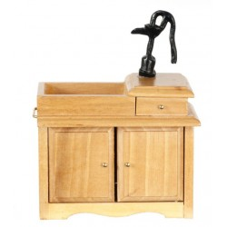 Wet Sink/oak/cb